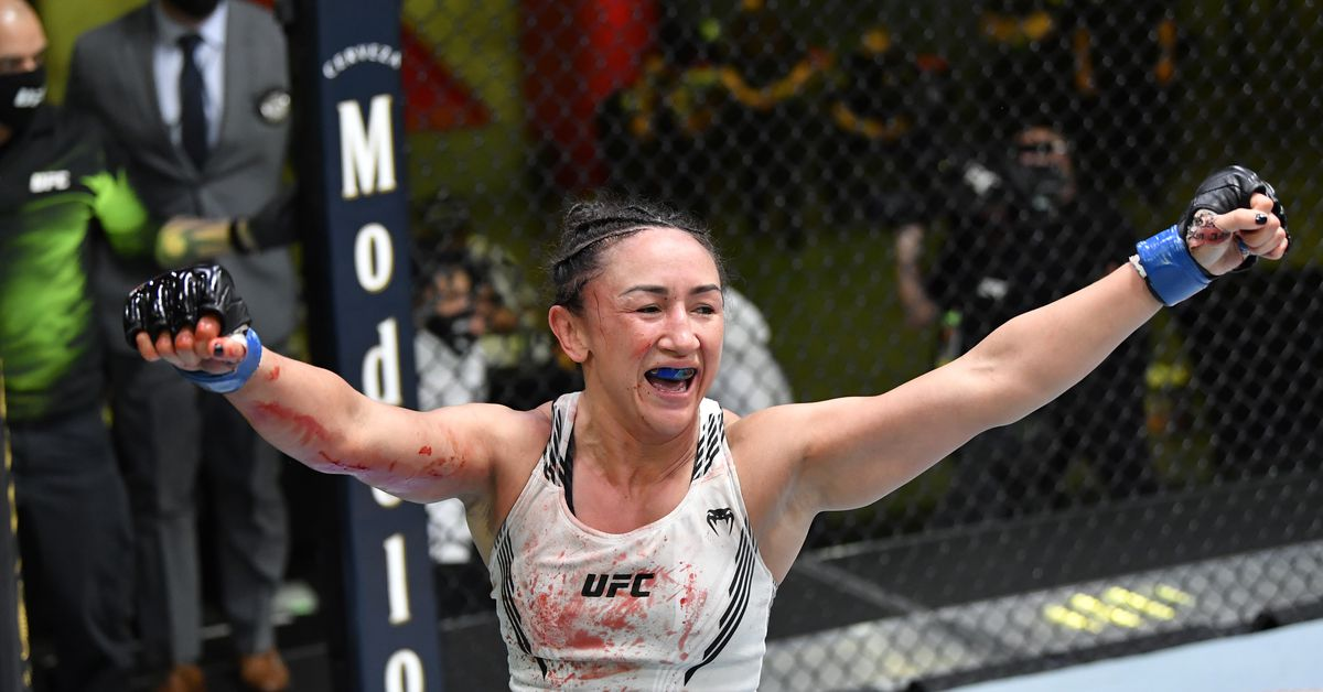 Carla Esparza explains why she's willing to wait for a title shot; Dana White advises her against it