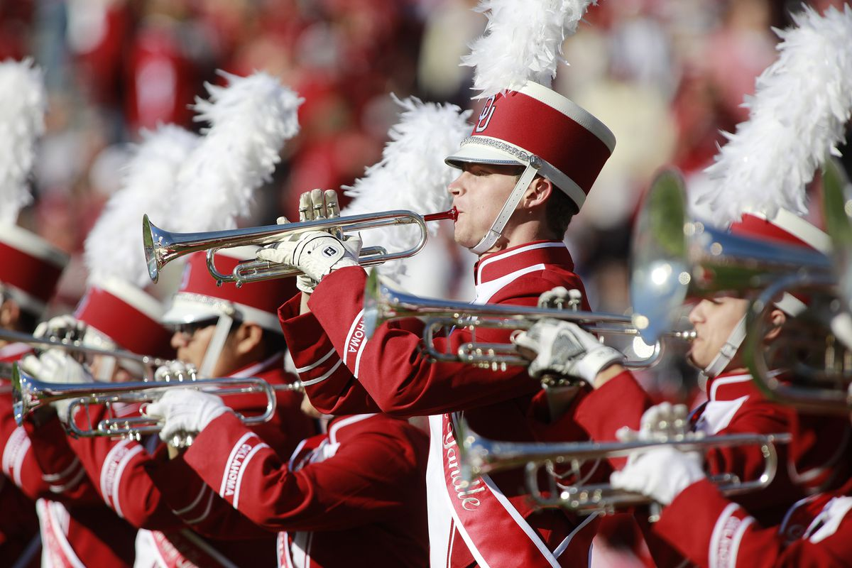 Blame Oklahoma's offense for their fight song being played 66