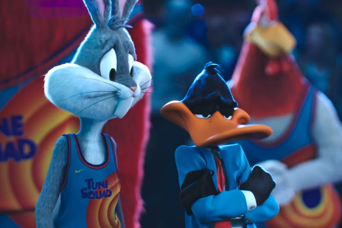 Bugs and Daffy in Space Jam 2