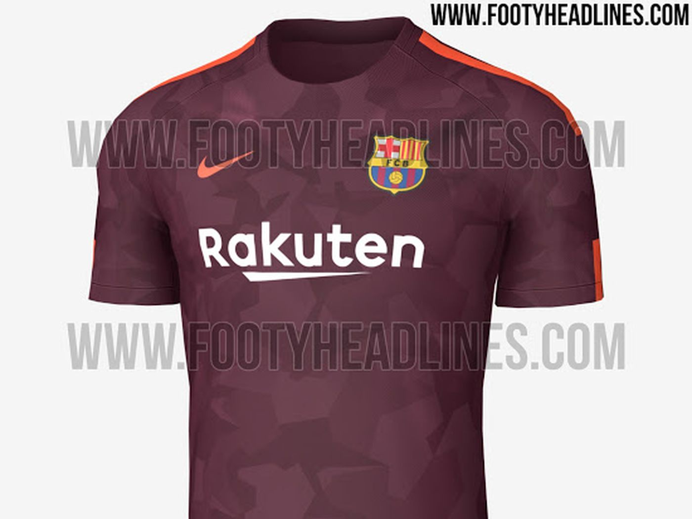 2bdce0974 Barcelona 2017-18 third kit leaked