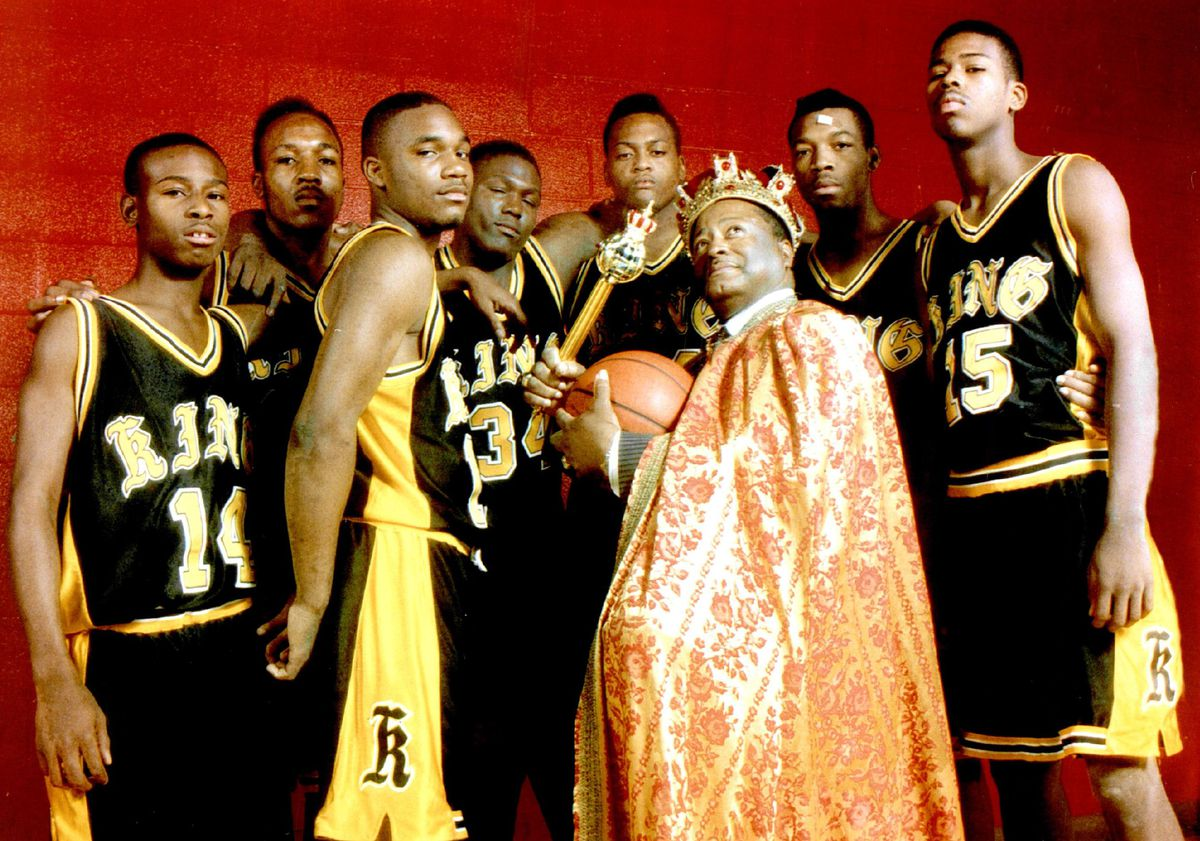 Landon Cox with his King team in 1994.