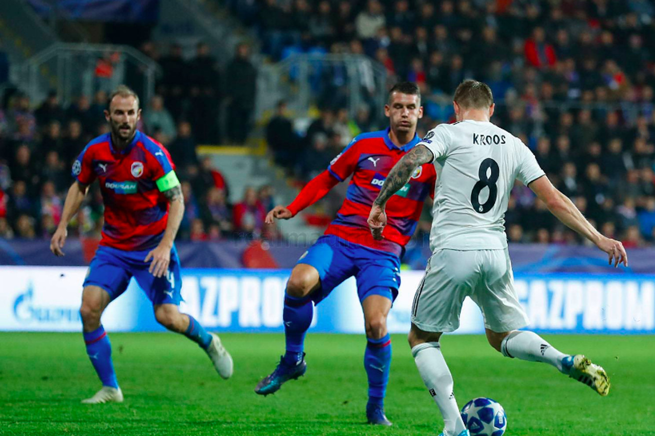 Tactical Review: Viktoria Plzen 0-5 Real Madrid; 2018 Champions League Group Stage