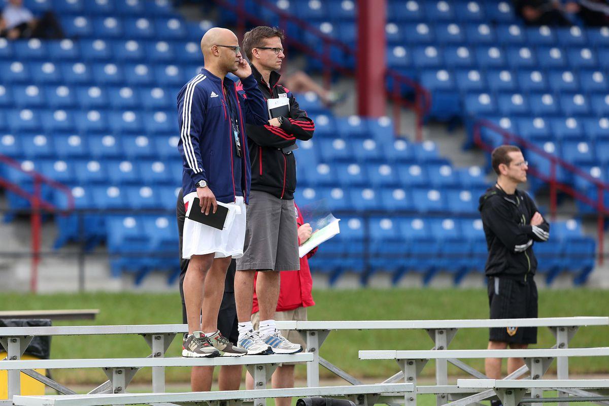 SOCCER: JAN 13 MLS Player Combine