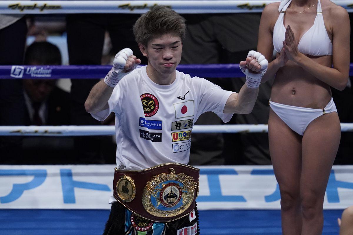 Kosei Tanaka v Wulan Tuolehazi - WBO Flyweight Title Bout