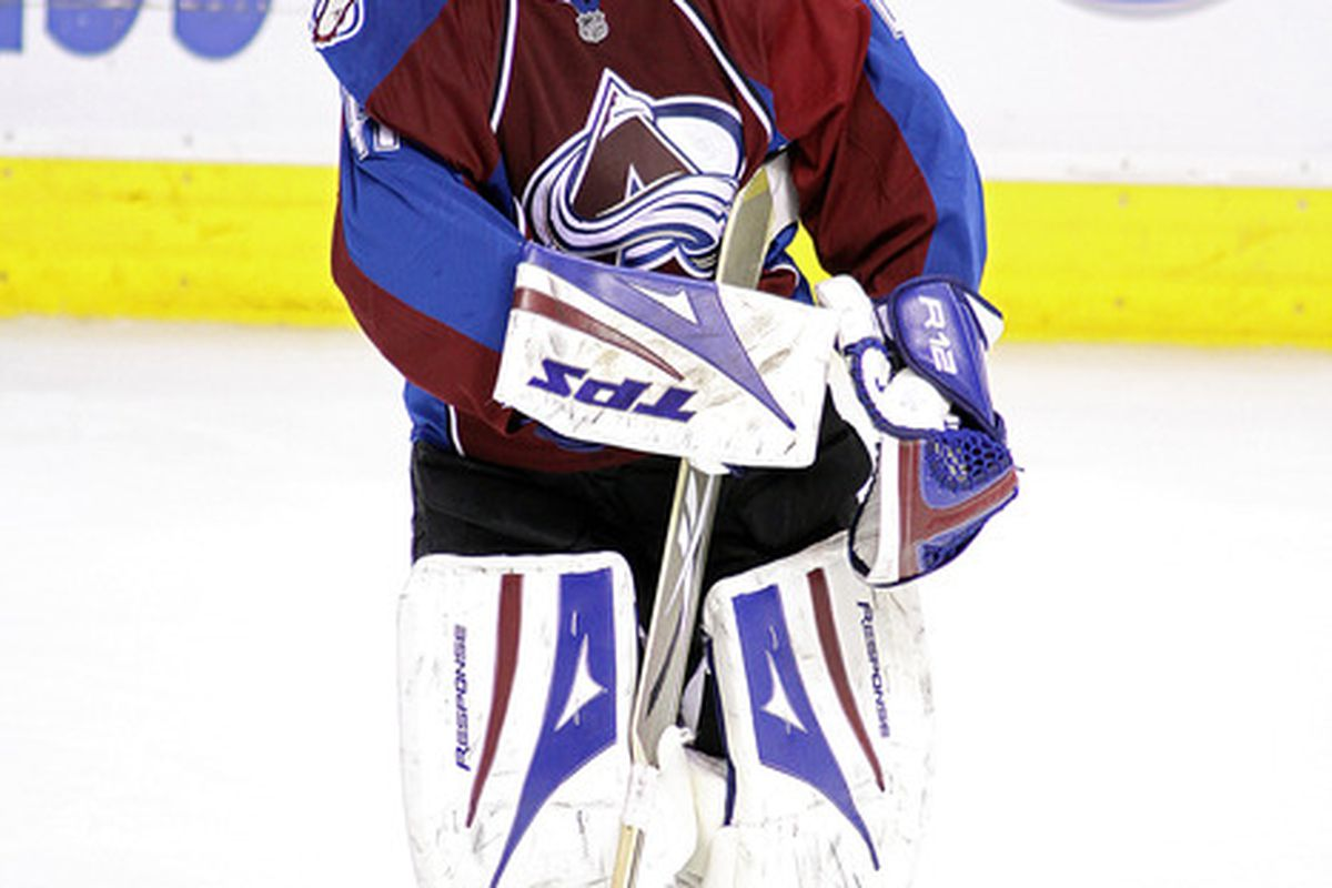 Expectations run high for Craig Anderson and the Colorado Avalanche this season.