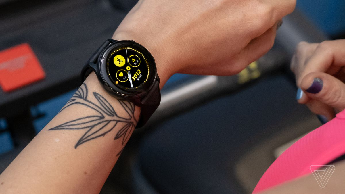 bb54af851c149b Samsung Galaxy Watch Active review: less fun but still a good time - The  Verge