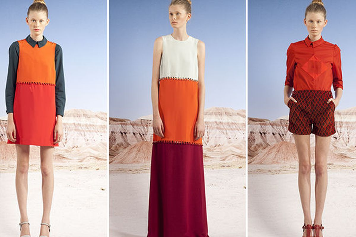 """Three looks from the Carleen <a href=""""http://carleen.us/ss2013.html"""">spring collection</a>"""