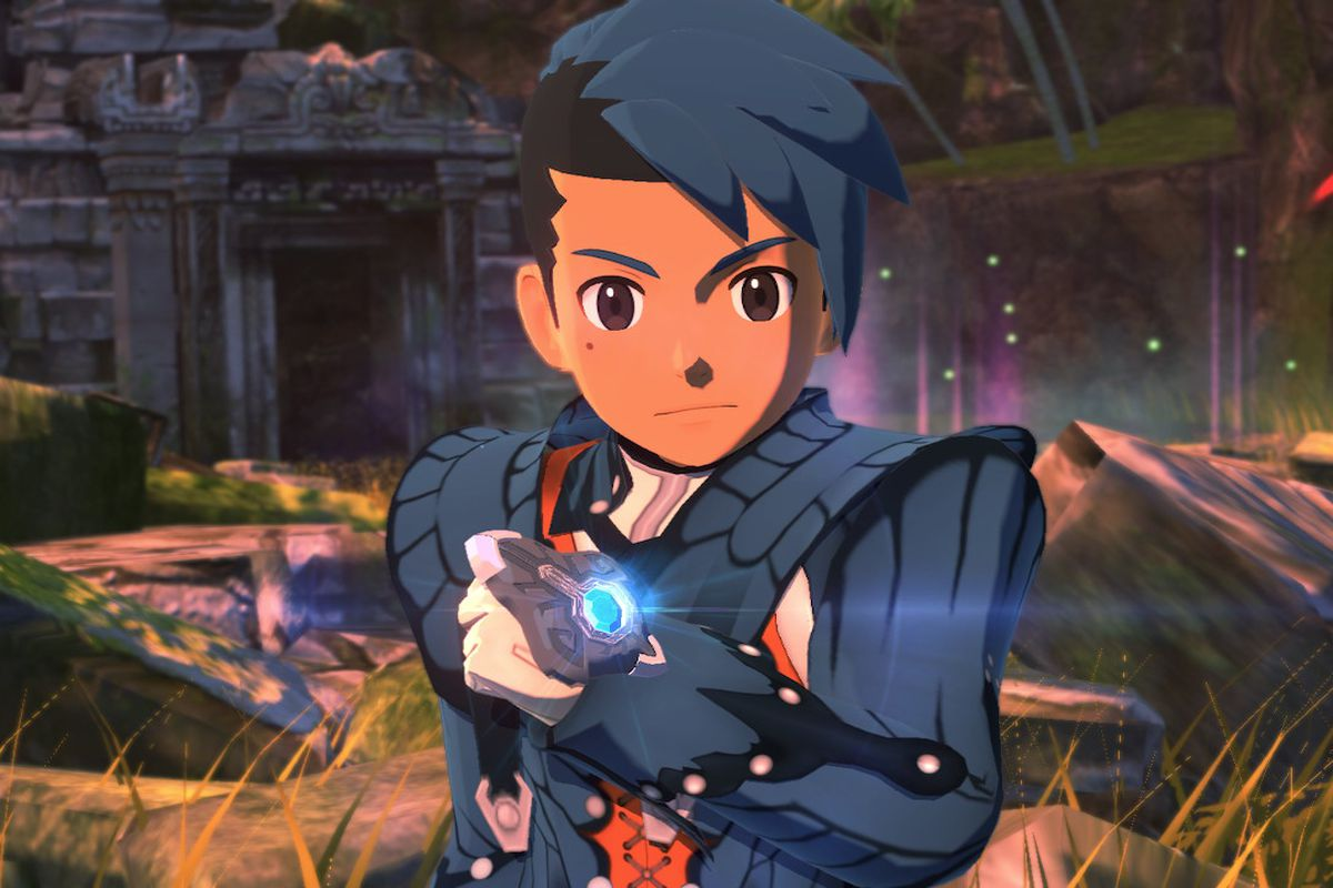 A Rider looking confident in Monster Hunter Stories 2: Wings of Ruin