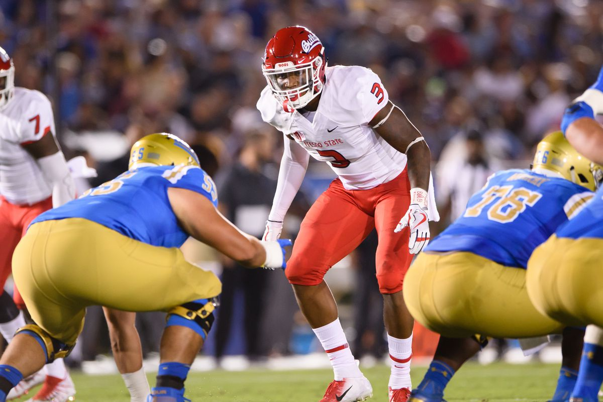 COLLEGE FOOTBALL: SEP 15 Fresno State at UCLA