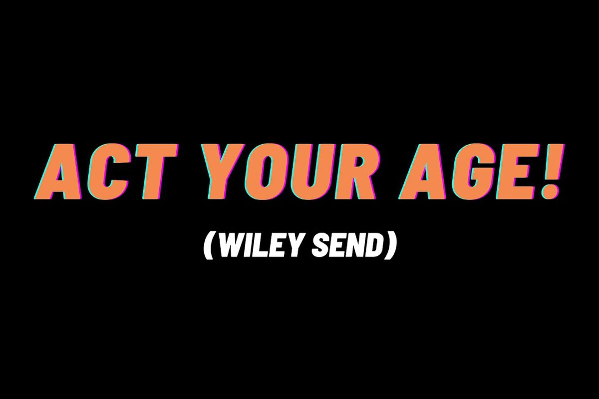 """Jaykae's """"Act Your Age!"""" artwork"""