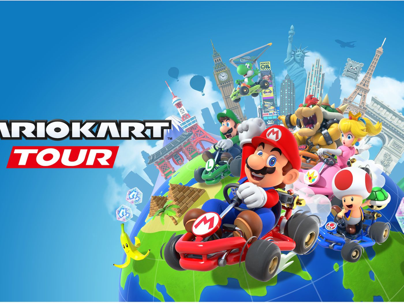Mario Kart Tour Release Date Announced For Android Ios Polygon