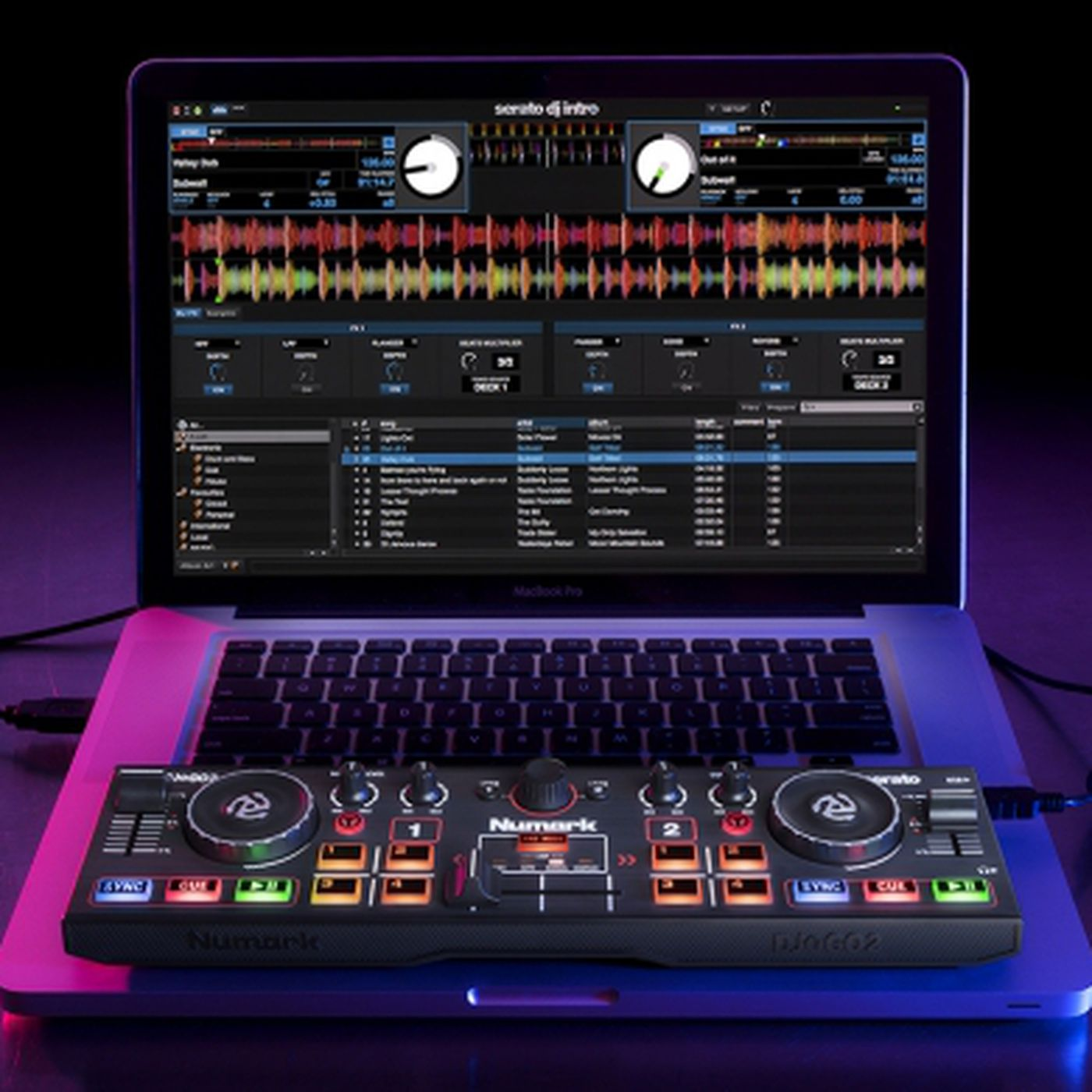 This is the smallest full-featured DJ controller on the market - The