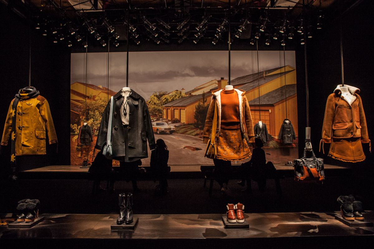 """A shot from Coach's fall presentation. Photo by <a href=""""http://peladopelado.com/"""">Driely S.</a> for Racked"""