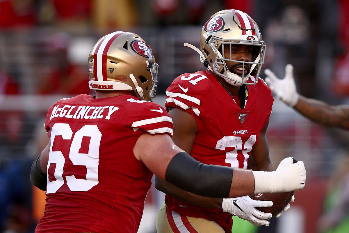"""49ers RT Mike McGlinchey: """"It's one game. We're going to bounce back. We're going to get better from this."""""""