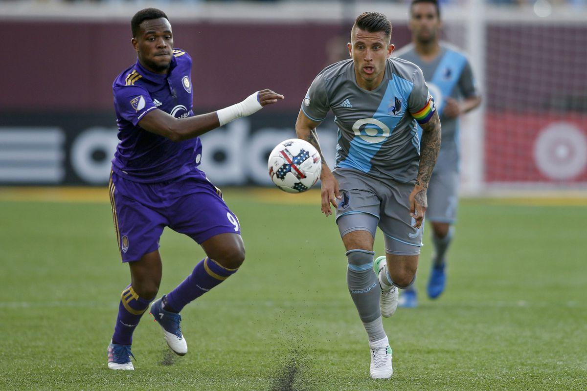 MLS: Orlando City SC at Minnesota United FC