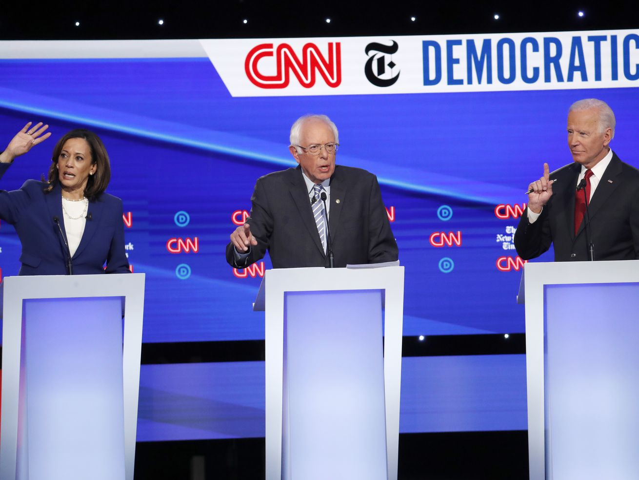 Democratic presidential candidates seem oblivious to how taxes, government spending affect private economy