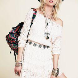 Hanshaw off-shoulder minidress, $128
