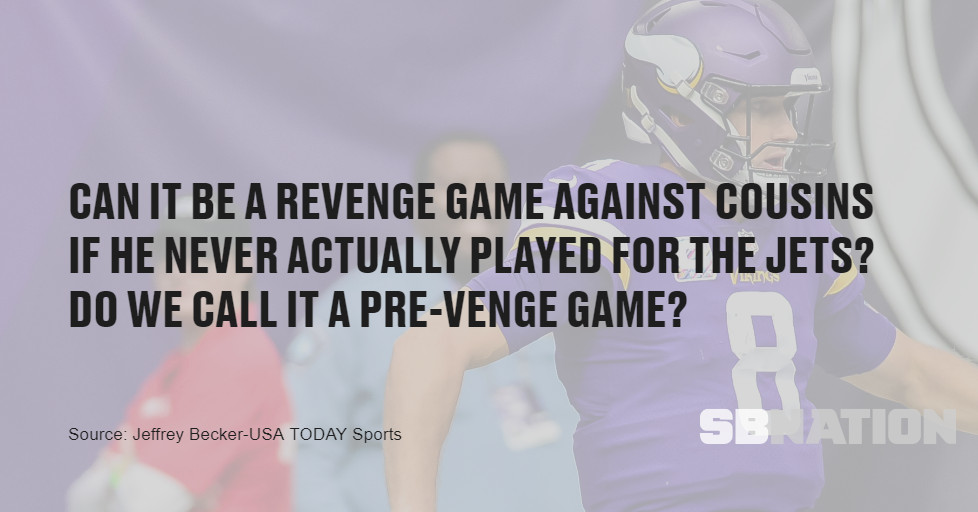 Vikings at Jets Preview: New York! New York?