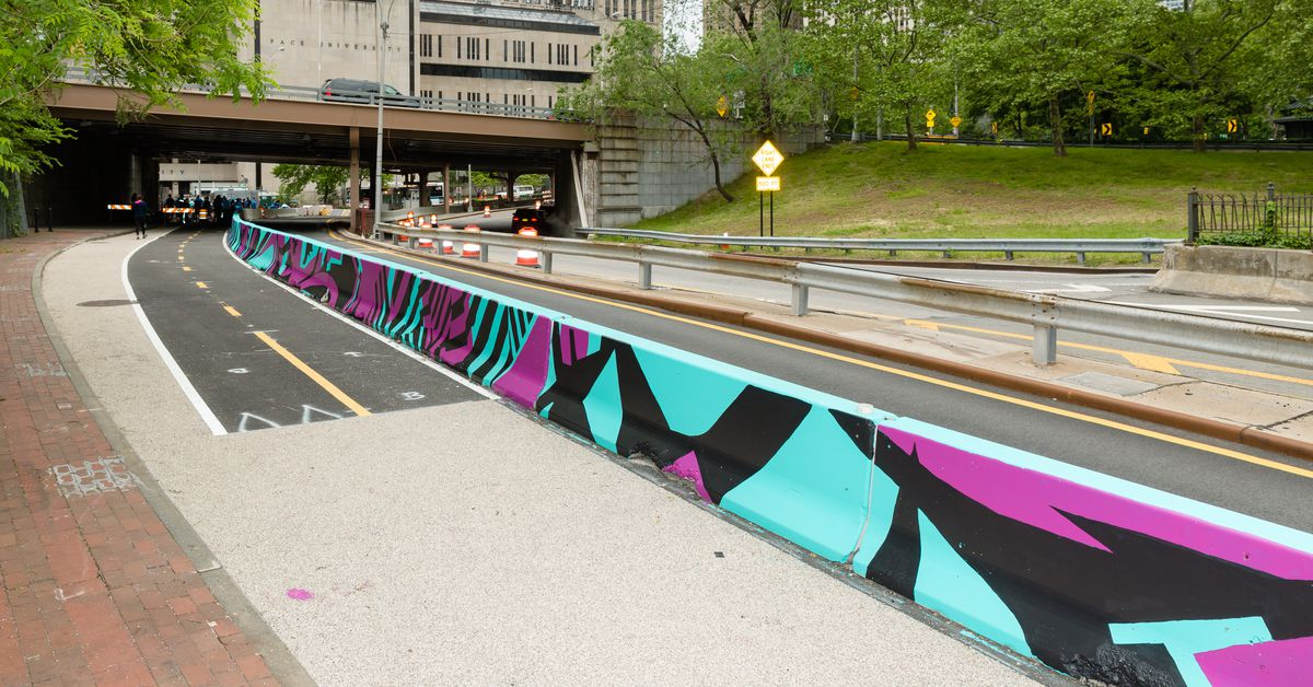 NYC's coolest public art is making streets safer
