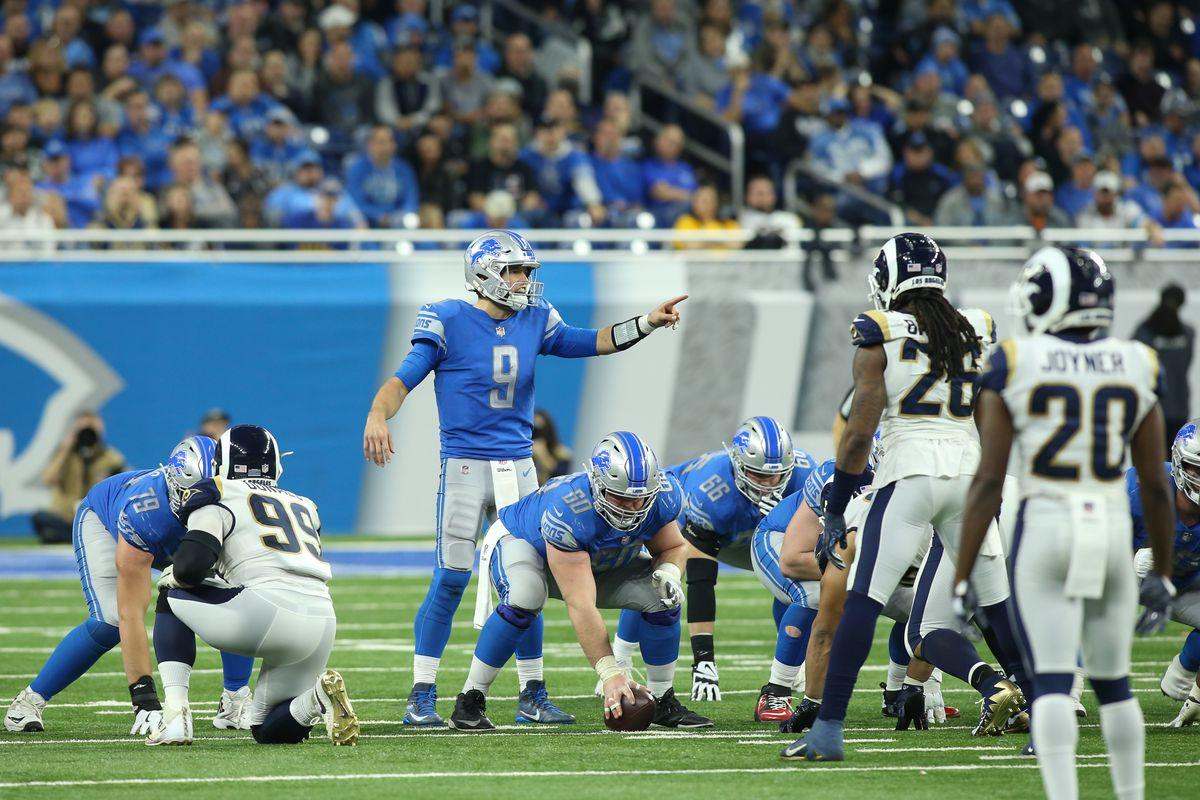 NFL: DEC 02 Rams at Lions
