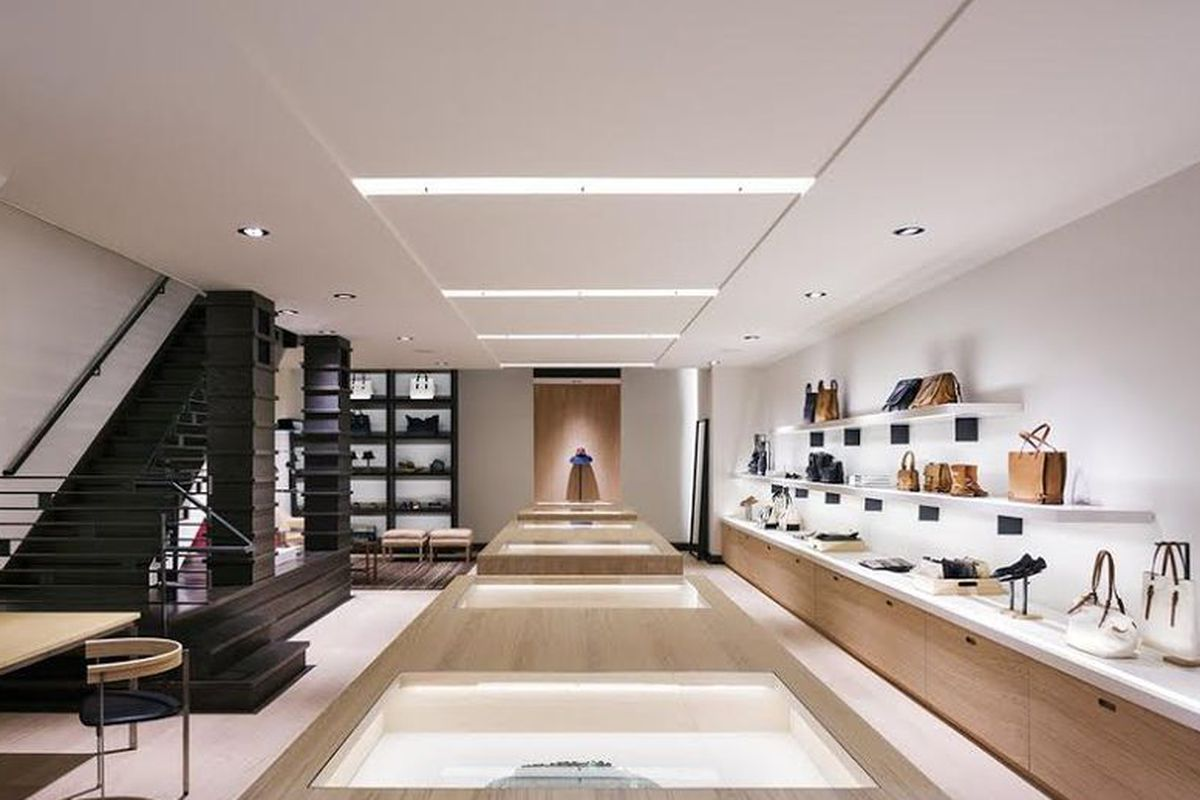 The Tomas Maier boutique on Madison Avenue