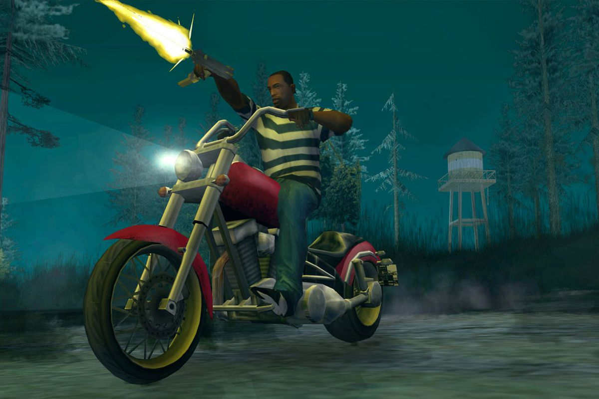 Grand Theft Auto: San Andreas achievements point to Xbox 360