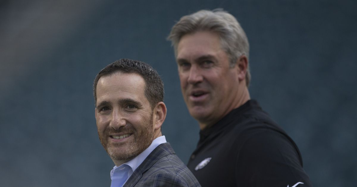 Live updates from Howie Roseman and Doug Pederson at the 2020 NFL Combine