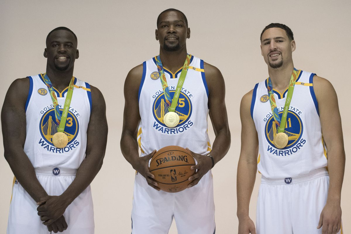 4c1965518e7b1 Warriors' Steph Curry and Kevin Durant named to USA National Team ...