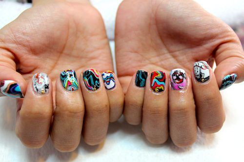 Meet chicagos most badass nail artists astrowifey spifster and how you chose your nail artist name its a long and funny story that i usually share during a nail appointment prinsesfo Images