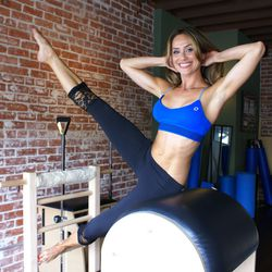 """<A href=""""http://la.racked.com/archives/2013/08/07/hottest_trainer_contestant_6_christine_bullock.php""""target=""""_blank"""">Christine Bullock of Studio Pilates</a>"""