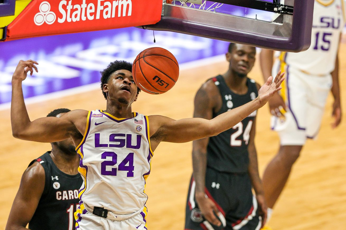 NCAA Basketball: South Carolina at Louisiana State