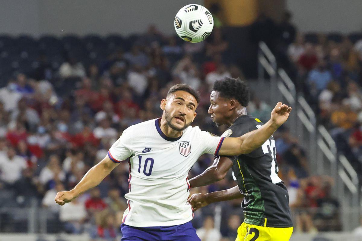 足球:中北美洲足球联合会牙买加金杯