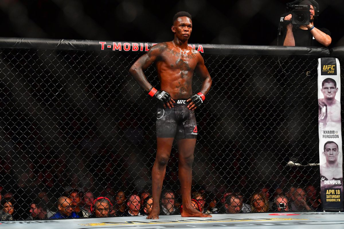Israel Adesanya aims to become a two-division champion when he takes on Jan Blachowicz at UFC 259.