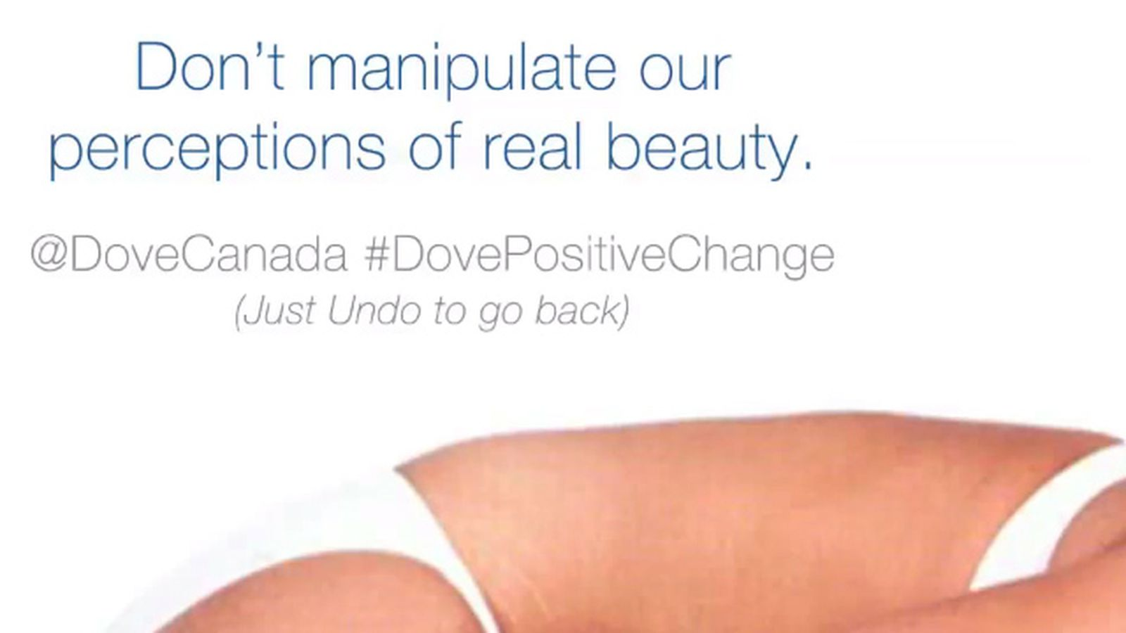 Dove releases rogue Photoshop action that undoes 'real beauty' manipulations