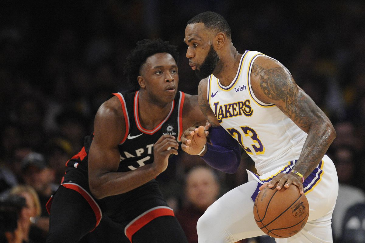 3cc3c2bb45fe Raptors take on LeBron James and his Lakers  Preview