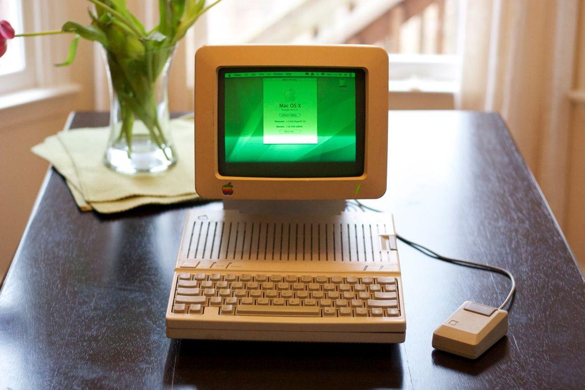 Apple IIc G4 Flickr