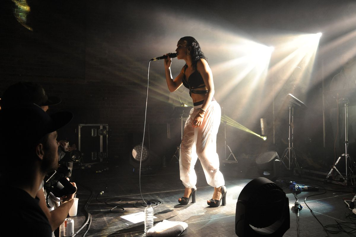 FKA Twigs performs in concert