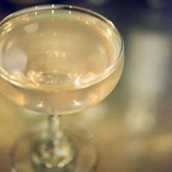 Or have a Bloody Corpse Reviver: Blood Orange Gin, Lillet Blanc, Cointreau, Absinthe Rinse ($9)