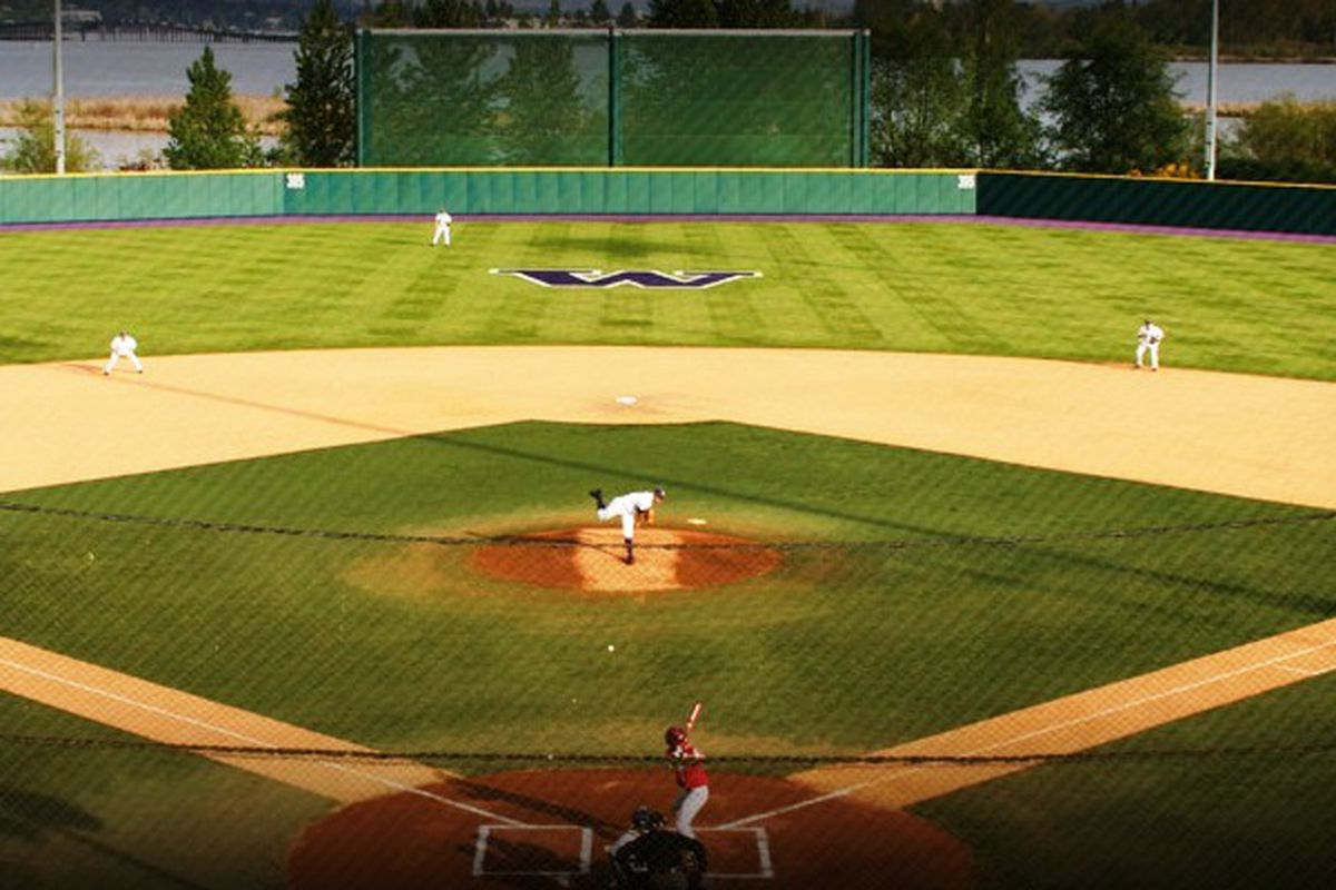 A sellout crowd will watch Washington and Oregon St. tonight at Husky Ballpark.