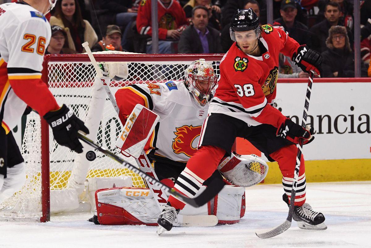 NHL: Calgary Flames at Chicago Blackhawks