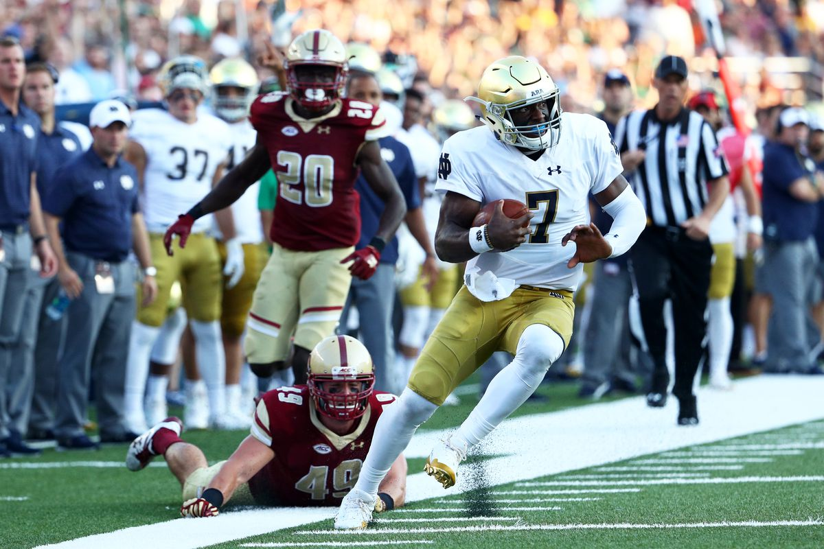 Throwback Thursday: Notre Dame Fighting Irish vs. Boston College Eagles