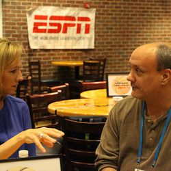 ESPN's Beth Mowins talks with Jim Fuller of the New Haven Register.