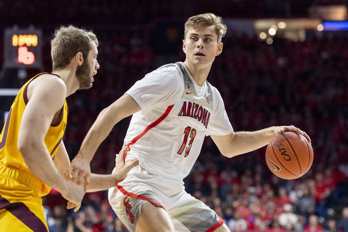 stone-gettings-arizona-wildcats-college-basketball-concussion-penn-cornell-rebounding-injury-2020