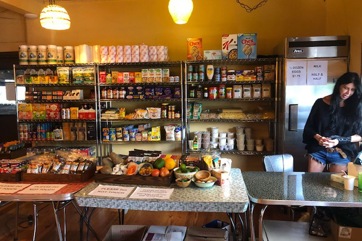 Flightpath coffee's grocery store