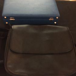 Leather bag, $159