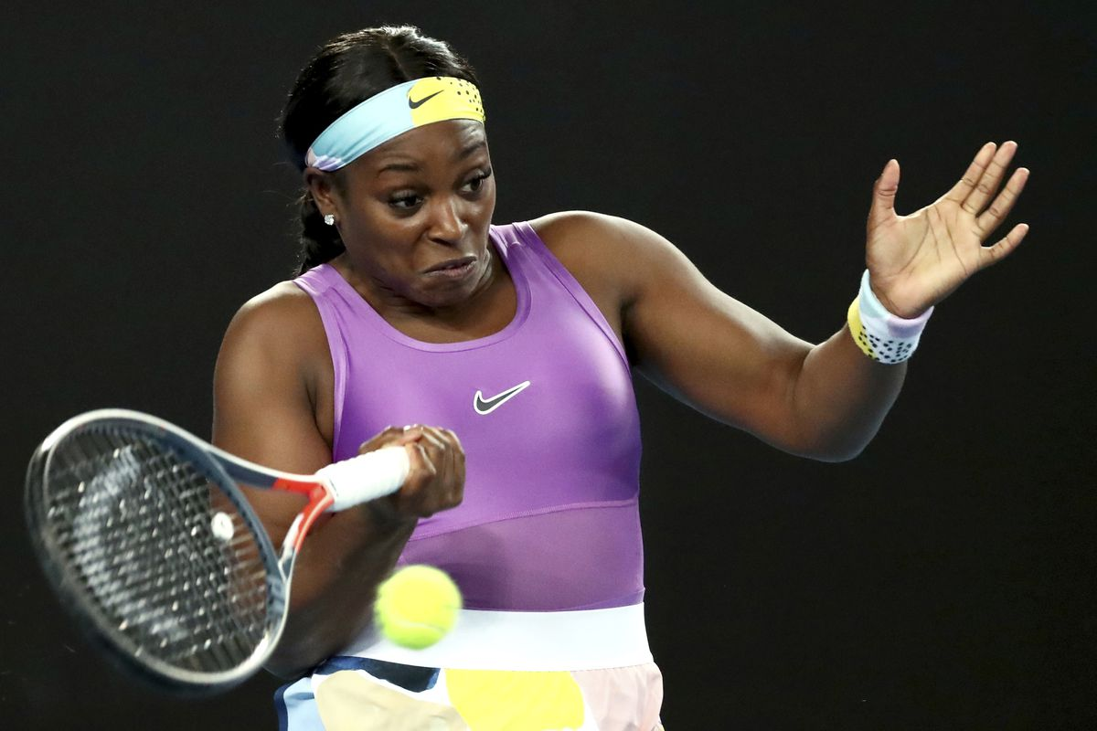 Sloane Stephens might be playing in front of fans again in July.