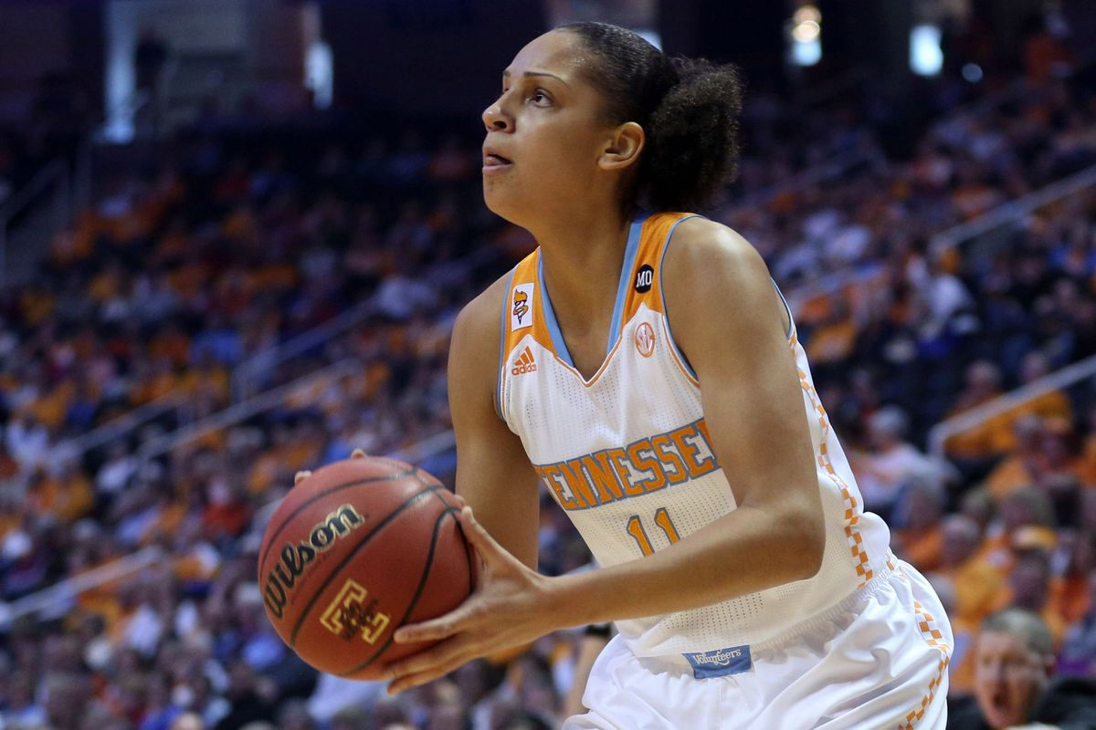 Pictured: median Lady Vol Height.  Also: Maximum SMU height.