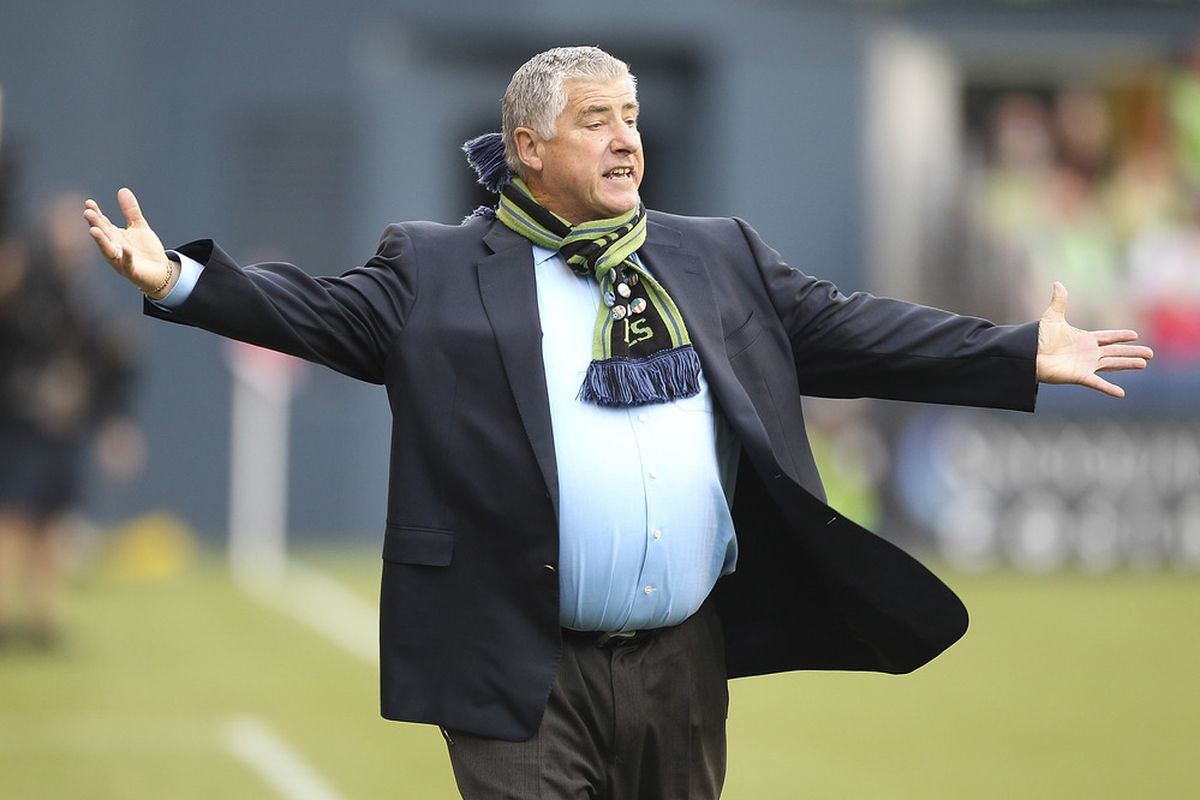 Two months of frustrating results are gone. Now Sigi Schmid hopes to extend a lossless streak into an August that could be special. (Photo by Otto Greule Jr/Getty Images)