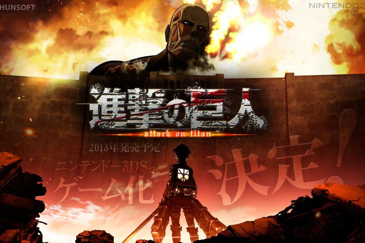 Attack on Titan 3DS game due out December in Japan - Polygon