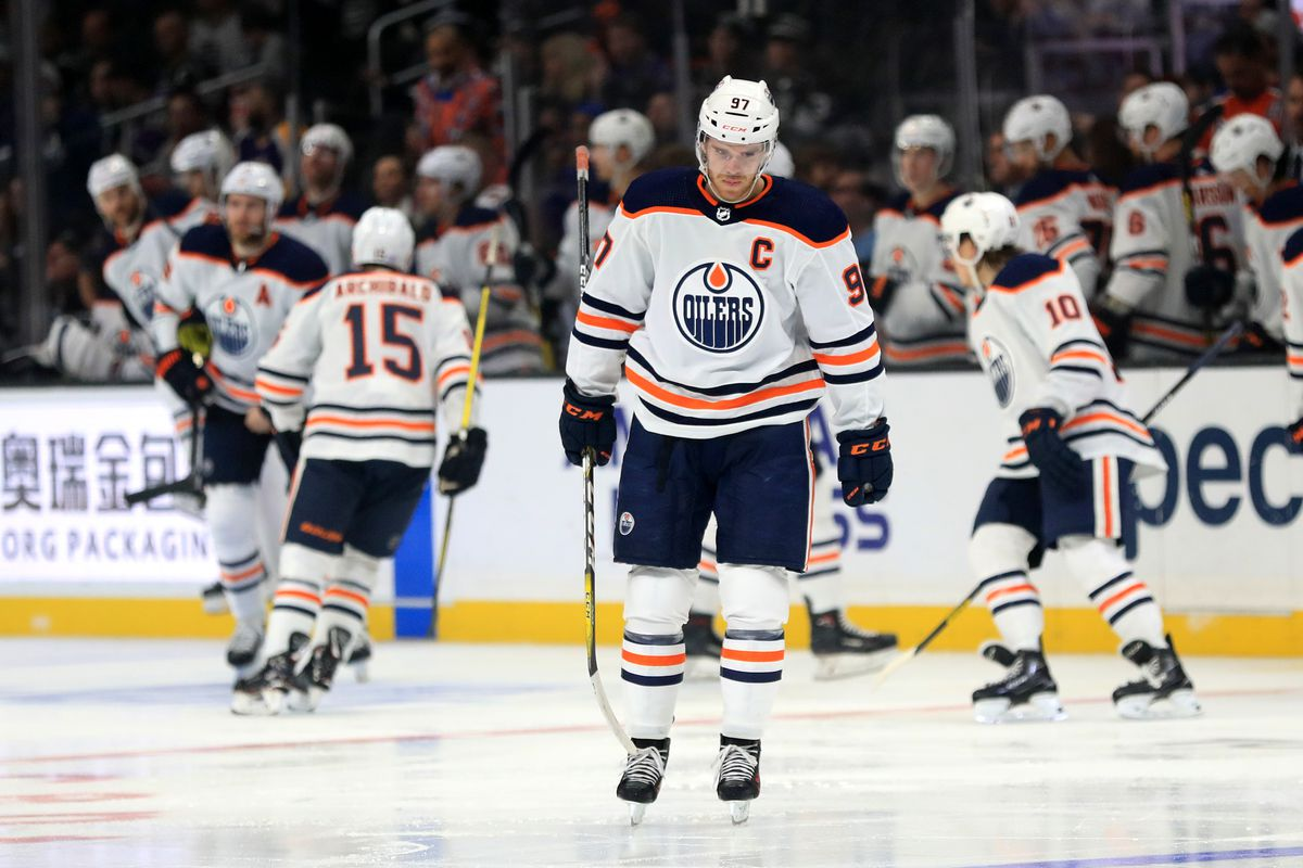 GAME RECAP: Oilers 1, Kings 5.